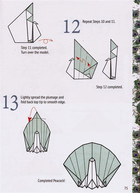 How To Make An Origami Peacock Step By Step - how to fold an origami turkey and make a thanksgiving