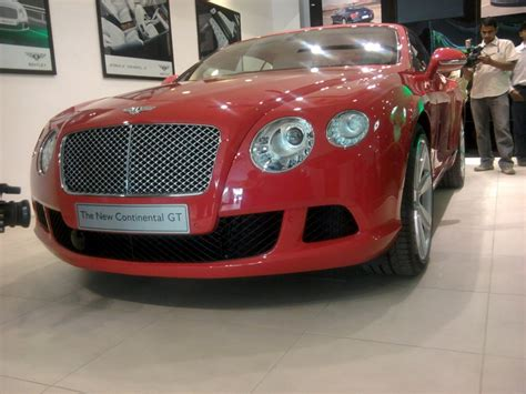 bentley india bentley continental gt launched in india at 1 9 crore rupees