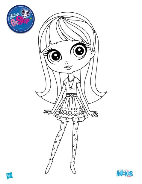 blythe baxter coloring pages hellokids com
