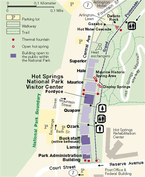 ouachita national forest map springs national park