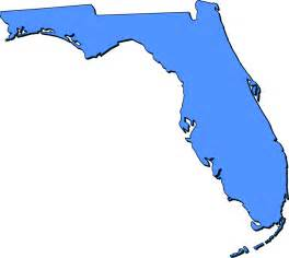 florida outline map florida quot clipart quot style maps in 50 colors