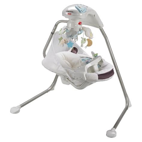 lamb swing fisher price fisher price my little lamb cradle n swing ebay