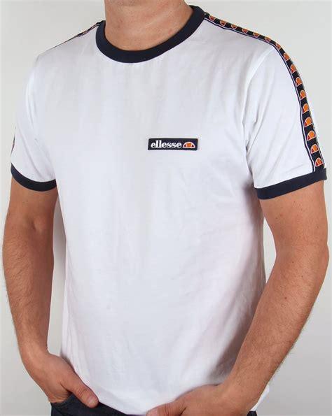 Tshirt Ellesse New One Tshirt ellesse sarnano ringer t shirt white mens crew neck