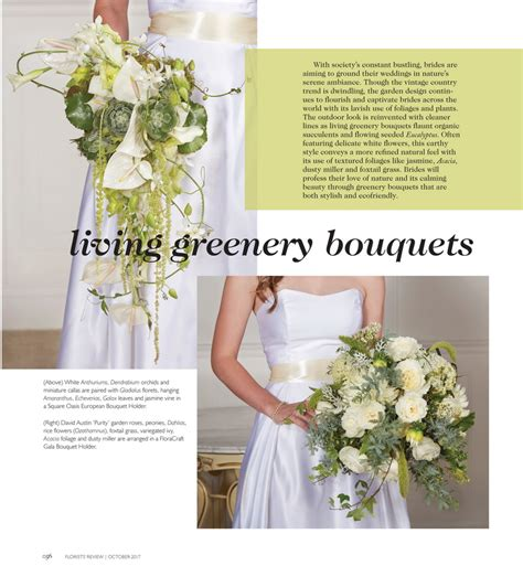 Wedding Bouquet Trends 2018 by Flower Trends Forecast Florist Review Wedding Trends For
