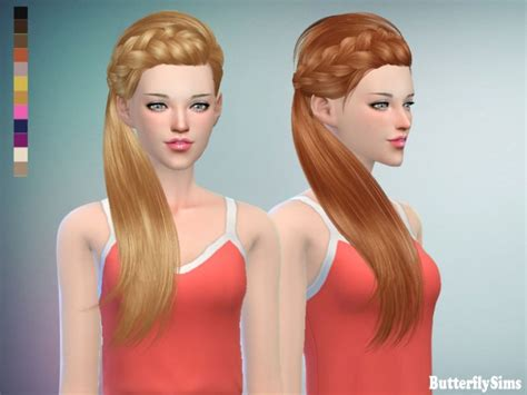 butterfly sims hair sims 4 b fly hair af jo162 pay at butterfly sims 187 sims 4 updates