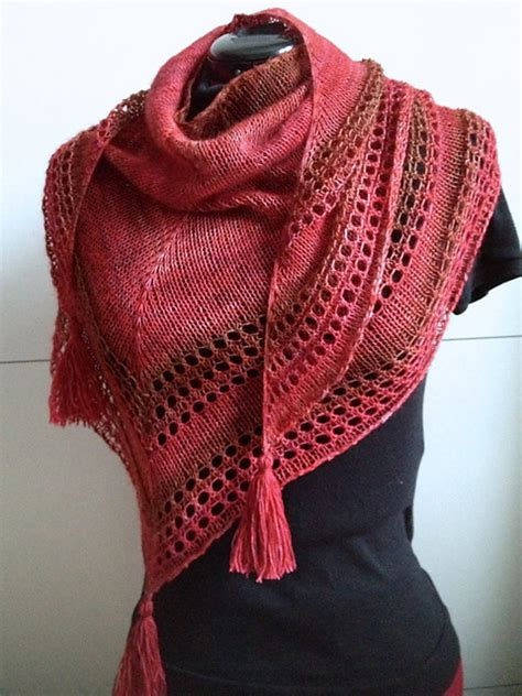 stole knitting patterns colorful shawl knitting patterns in the loop knitting