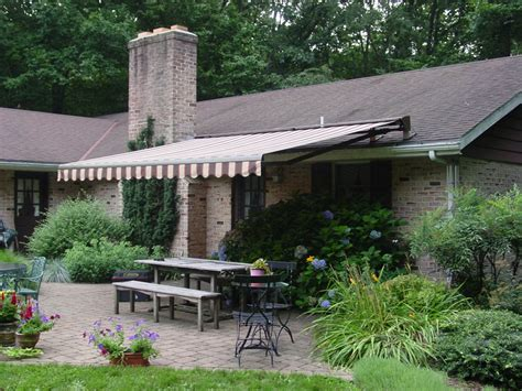 how to attach awning to house retractable shade awnings landscaping network