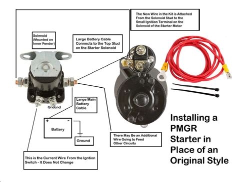 ford 351 marine starter solenoid diagram ford tractor