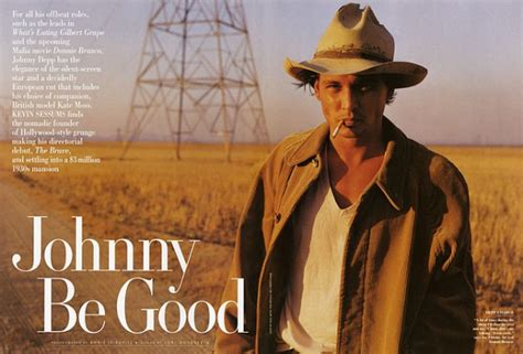 johnny depp covers vanity fair january 2011 photographed
