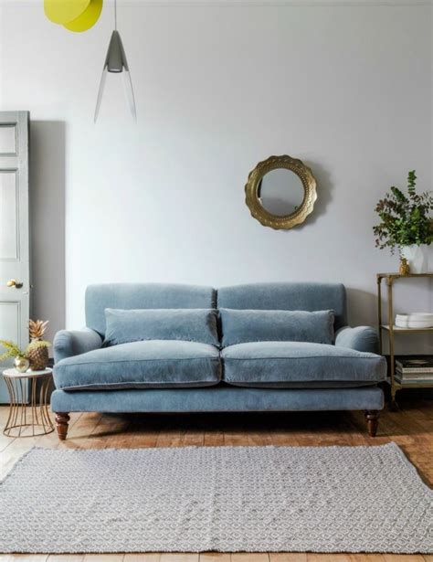 grey and blue sofa 25 best ideas about grey velvet sofa on