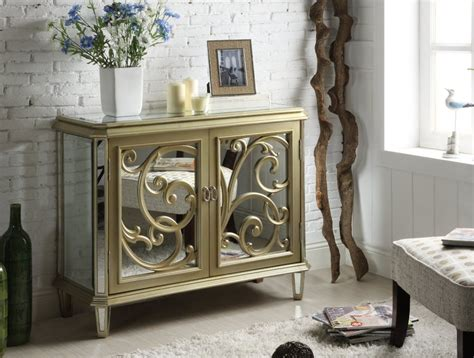 Antiqued Mirrored Nightstand by Decorate Around An Antiqued Mirrored Nightstand