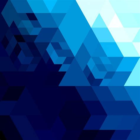 blue geometric pattern free vector abstract bright blue geometric shape 12736