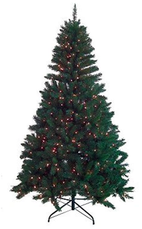 black friday artificial christmas tree kohl s black friday tree deal st nicholas 7 foot pre lit tree 52 99 shipped