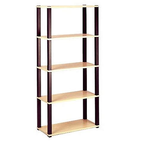 open 5 shelf bookcase multiple finishes walmart com