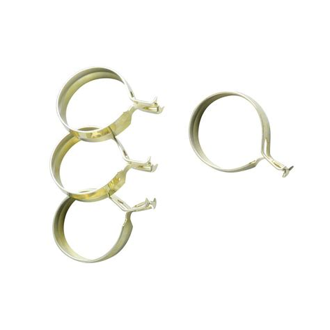 cafe curtain clips essential home brown curtain rings with clips home