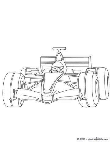 Auto Bilder Selber Malen by Formel 1 Zum Ausmalen Ausmalbilder Pinterest