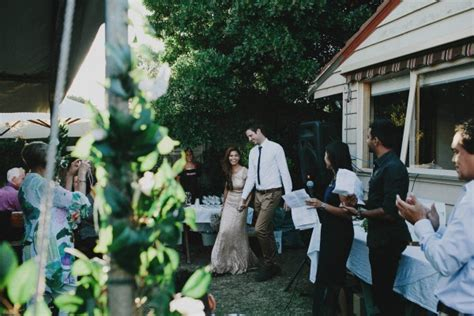 Backyard Wedding Melbourne by Backyard Wedding In Melbourne Junebug Weddings