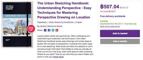 the urban sketching handbook 1592539629 หน งส อ the urban sketching handbook understanding perspective อยากสเก ตช เปอร สเปคท ฟต องอ าน