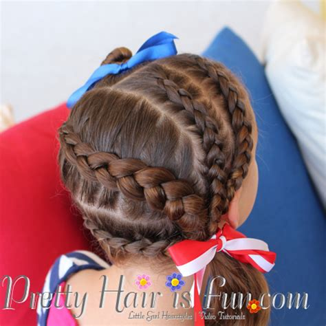 natural hair braids for kids fourth of july hairstyles pretty hair is fun 4th of july hairstyle pretty hair is