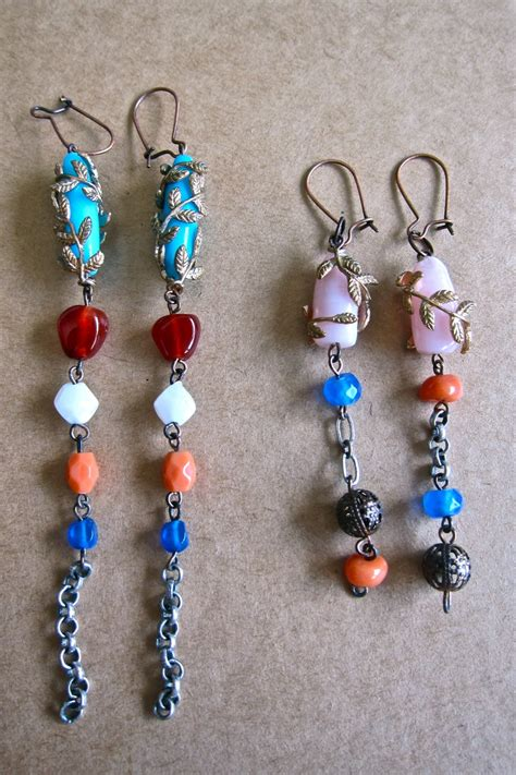 Bead Earring Designs Handmade - handmade beaded earrings