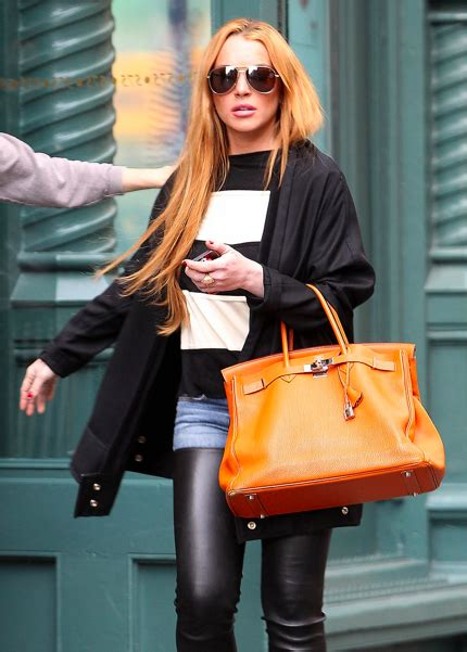 Lindsay Lohans Oxford Purse by My Birkin My Birkin Says