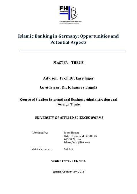 dissertation on banking dissertation on risk management in islamic banking risk