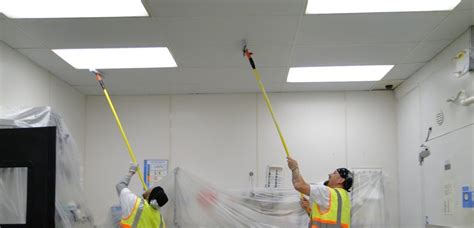 Cleaning Ceilings by Facilities Maintenance Cleaning Restoration Usa