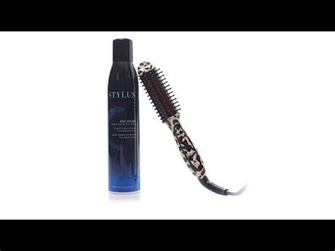 fhi stylus thermal styling brush or t3 styling brush fhi stylus mini leopard thermal styling brush and spray