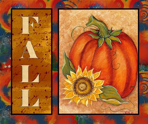 acrylic painting ideas fall get into the season by painting and creating this pumpkin