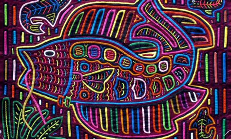 Decorative Paintings For Home by Molas Indigenous Art Of The Kuna