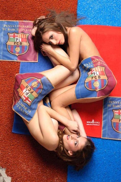 Calendario De Desnudas Modelos Sensuales Posan Desnudas Para El Calendario De Fc