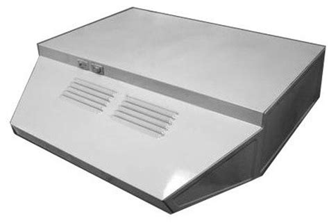 Exhaust Fan Modern 20 summit professional series h1720ss 20 inch range