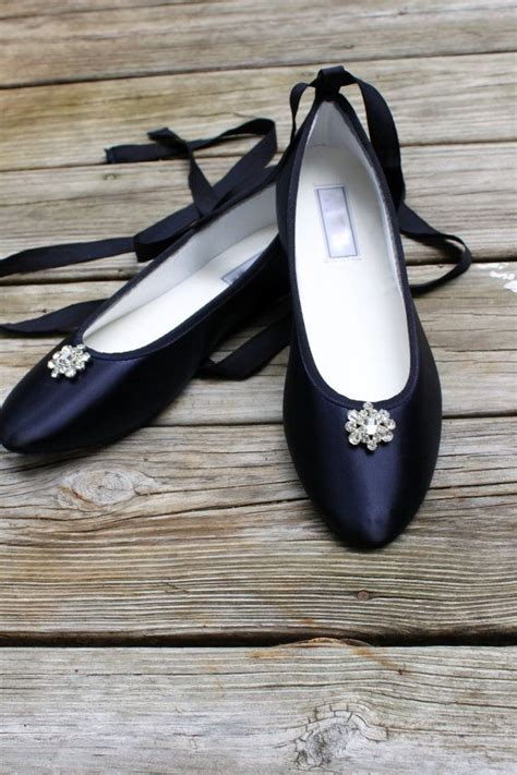 Navy Bridal Flats by 1000 Ideas About Navy Wedding Shoes On Navy