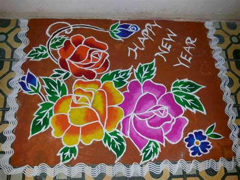new year design pictures new year rangoli designs