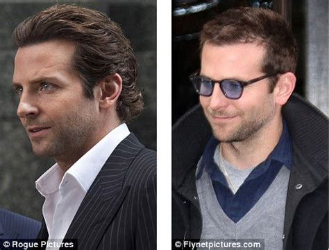Hair Style Product Comparison by Is Sexiest Alive Bradley Cooper Experiencing Hair Loss