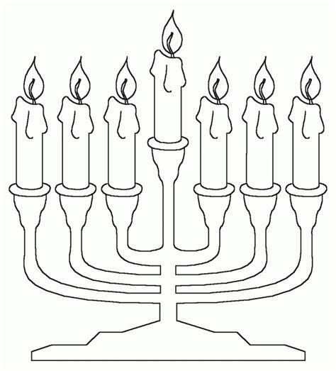 coloring pages for hanukkah hanukkah coloring pages menorahs family holiday net