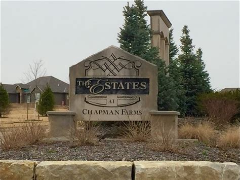 the estates at chapman farms subdivision real estate