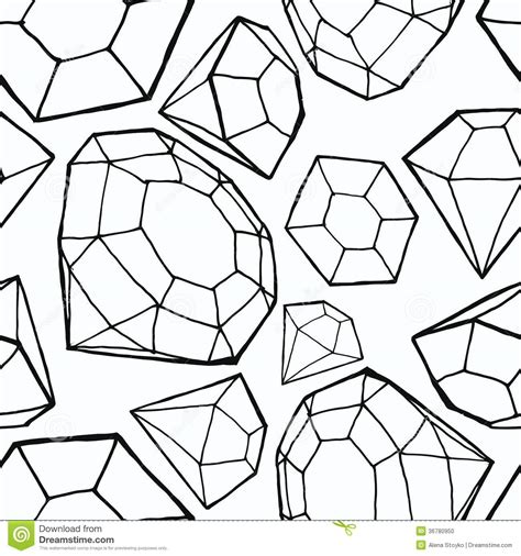 diamond pattern drawing seamless diamond pattern stock photo image 36780950