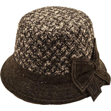 accessories womens wool vintage cloche hat