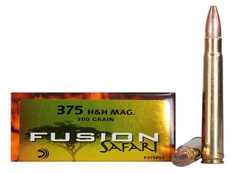 h h federal fusion safari ammo 375 h h mag 300 grain mpn