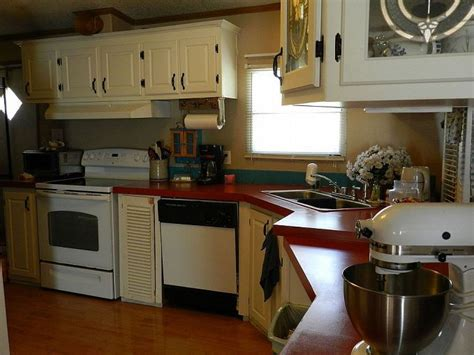 painting mobile home kitchen cabinets painting particle board cabinets in mobile home