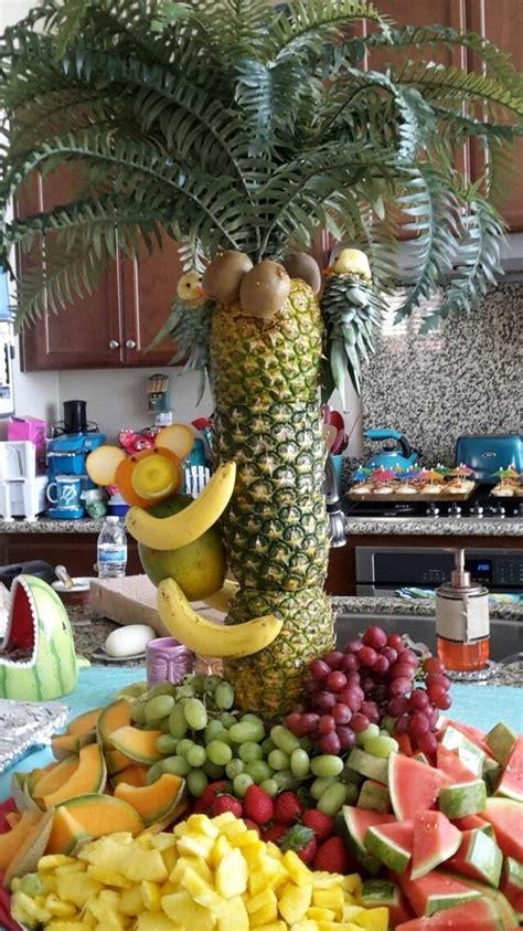 fruit tree centerpiece 17 best ideas about pineapple tree centerpieces on