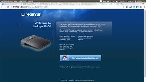 Linksys Cisco E1200 By Tecnet 192 168 1 1 login