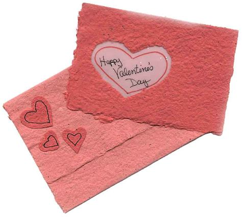 Handmade Paper Hearts - handmade cards hearts images
