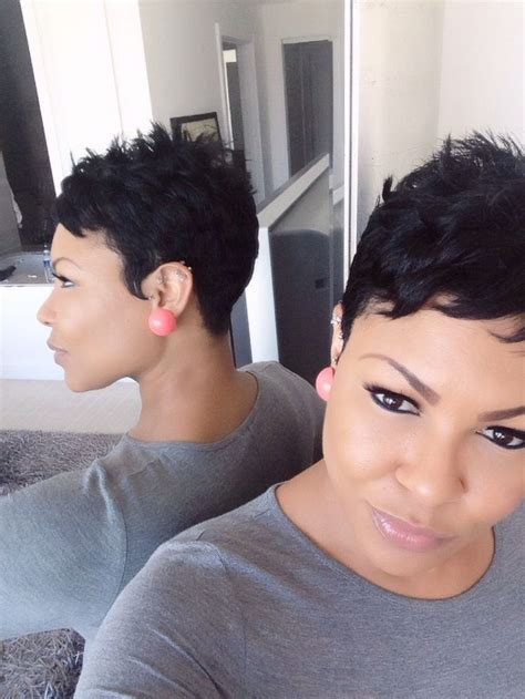 how to trim relaxed hair 17 best ideas about short sassy hair on pinterest sassy
