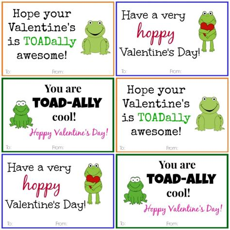 frog cards diy printable cards