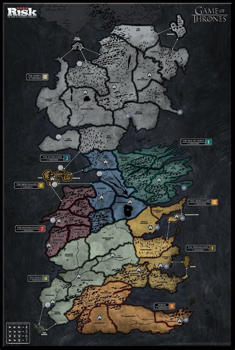 map layout for game of thrones 6 best game of thrones board games expansions reviewed