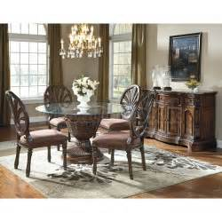 dining room sets at ashley furniture ledelle round dining room set signature design by ashley
