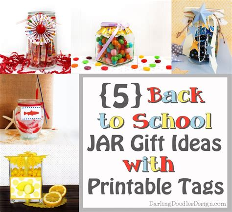 five back to school gift ideas in a jar doodles
