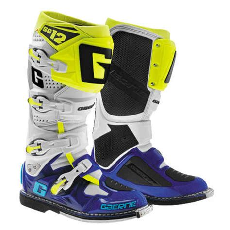 motocross boots gaerne 421 00 gaerne mens sg 12 mx motocross off road riding